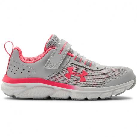 Detská športová obuv (tréningová) UNDER ARMOUR-PS Assert 8 AC halo gray/white