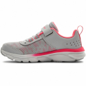 Dětská sportovní obuv (tréninková) UNDER ARMOUR-PS Assert 8 AC halo gray / white -