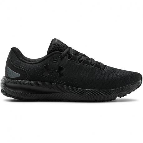 Dámska športová obuv (tréningová) UNDER ARMOUR-W Charged Pursuit 2 black/black