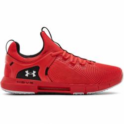 Pánska športová obuv (tréningová) UNDER ARMOUR-HOVR Rise 2 versa red/halo gray
