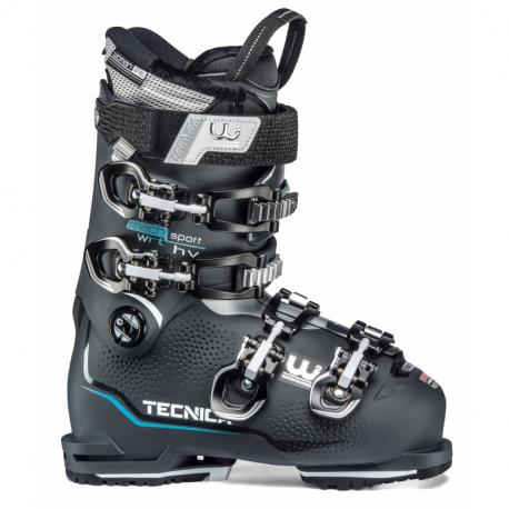 Dámske lyžiarky na zjazdovku - On piste TECNICA-Mach Sport 75 HV W RT, graphite, rental