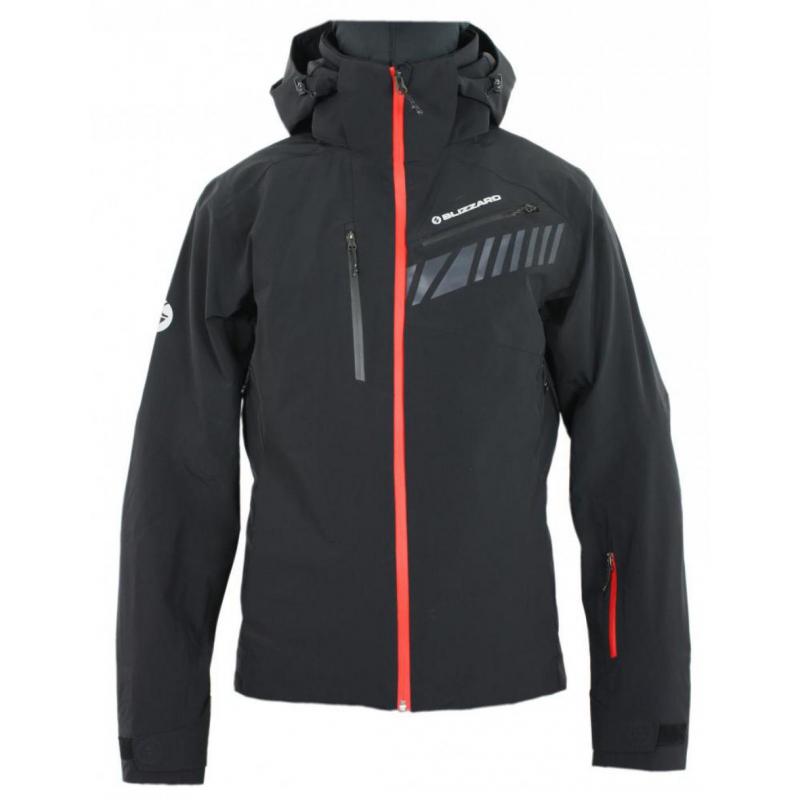BLIZZARD-Ski Jacket Race, black Čierna M