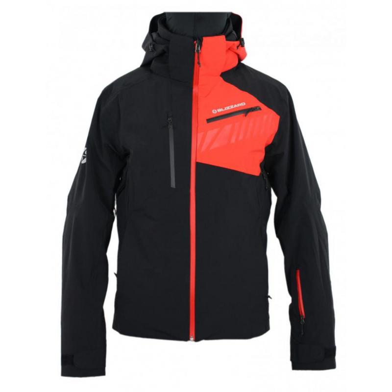 BLIZZARD-Ski Jacket Race, black/red Čierna M