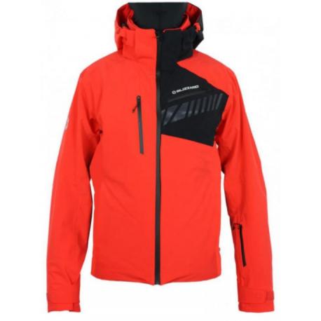Pánská lyžařská bunda BLIZZARD-Ski Jacket Race, red / black