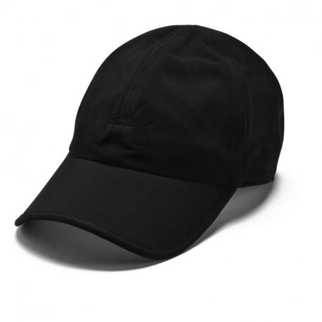 Kšiltovka UNDER ARMOUR-UA Run Shadow Cap-BLK