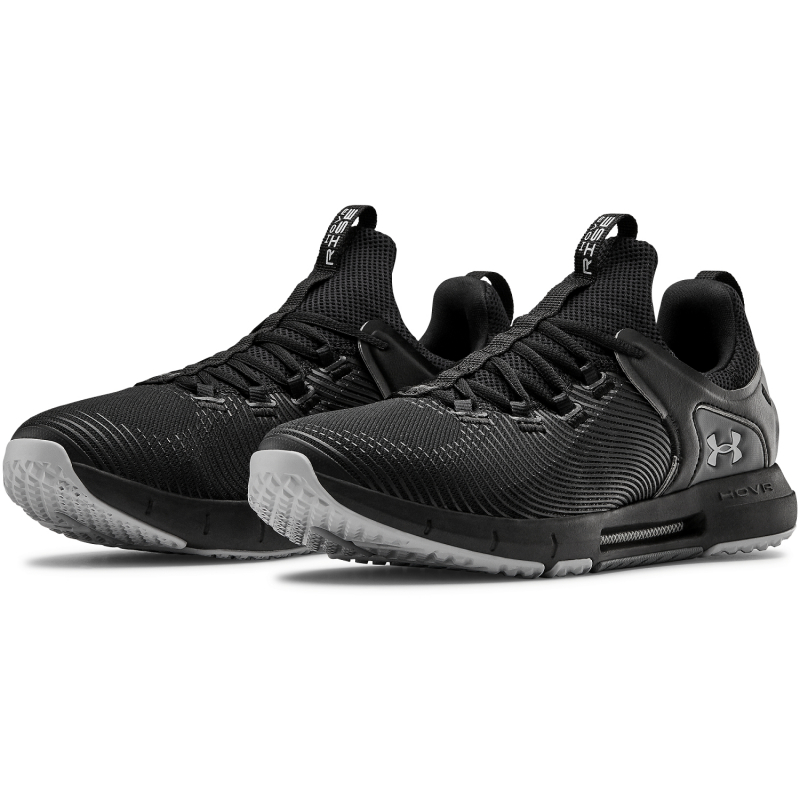 Pánska športová obuv (tréningová) UNDER ARMOUR-HOVR Rise 2 black/mod gray (EX) -