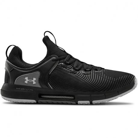 Pánska športová obuv (tréningová) UNDER ARMOUR-HOVR Rise 2 black/mod gray (EX)