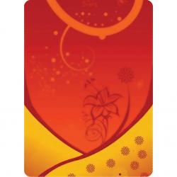 Multifunkčná šatka 4FUN 8v1 ST Yellow flower