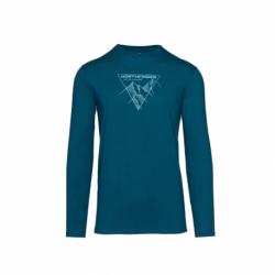 Pánské turistické tričko s dlouhým rukávem NORTHFINDER-PR &-281 Blue