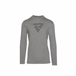 Pánské turistické tričko s dlouhým rukávem NORTHFINDER-PR &-319 Grey