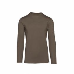 Pánské turistické tričko s dlouhým rukávem NORTHFINDER-ORDZI-473 Brown