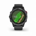 Monitor aktivity GARMIN-fenix 6 Pro Solar, Slate Gray, Black Band -