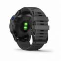 Monitor aktivity GARMIN-fenix 6 Pro Solar, Black, Slate Gray Band -