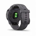 Monitorování aktivity GARMIN-fenix 6S Pro Solar, Ametystová ocel, Břidlicově šedá páska -