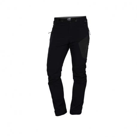Pánske turistické zateplené nohavice NORTHFINDER-SIMET-269 Black