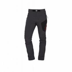Pánske turistické zateplené nohavice NORTHFINDER-SIMET-319 Grey