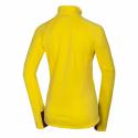 Dámska turistická mikina so zipsom NORTHFINDER-BENSVA-478 Yellow -
