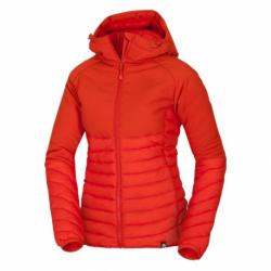 Dámská turistická bunda NORTHFINDER-Bíreš-483 Red