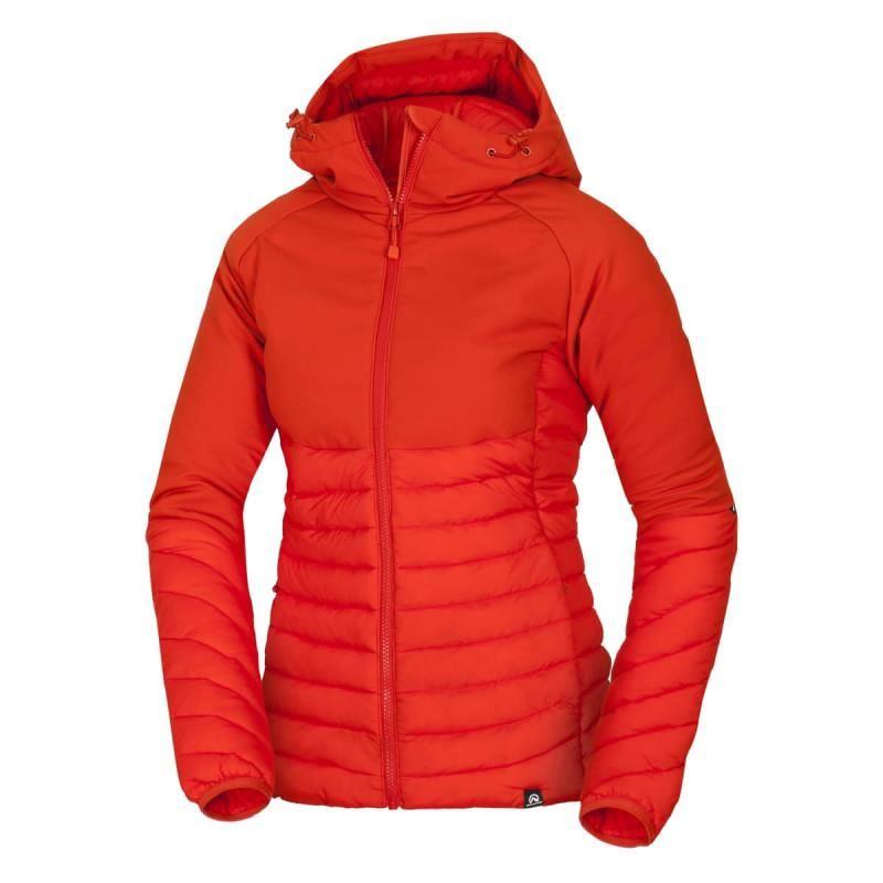Dámska turistická bunda NORTHFINDER-BIRESA-483 Red -