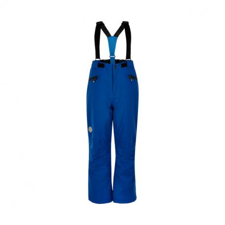 Chlapčenské lyžiarske nohavice COLOR KIDS-Ski pants w/Pockets, AF 10.000-Galaxy blue