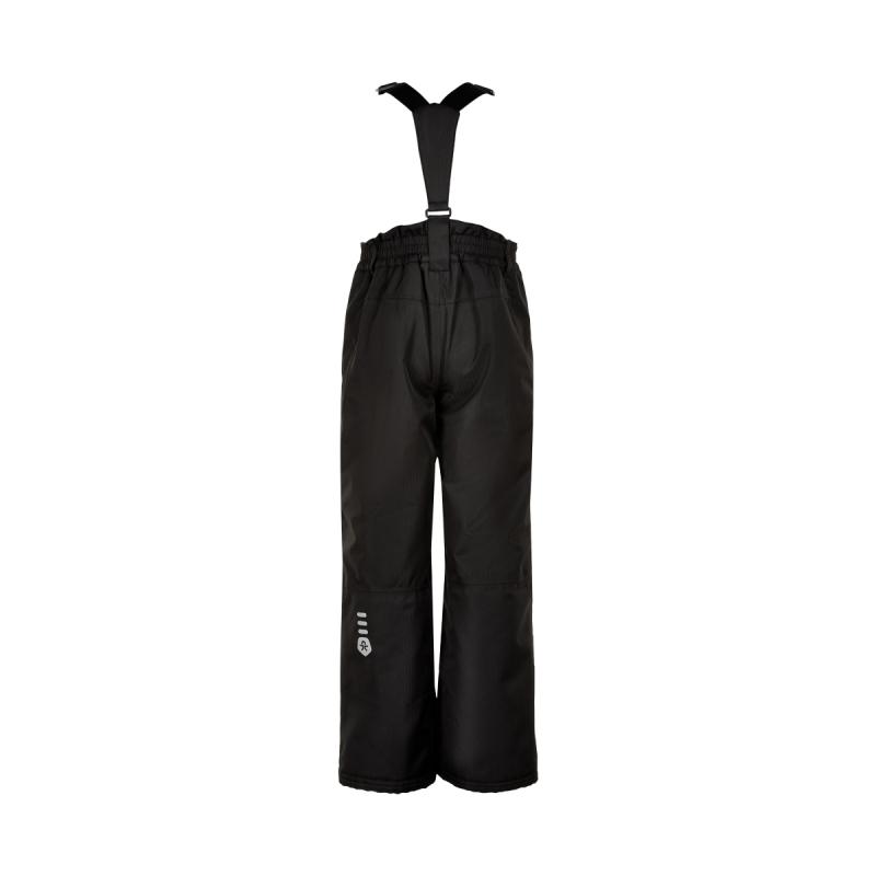 Detské lyžiarske nohavice COLOR KIDS-Ski pants slim, AF 10.000-Black -