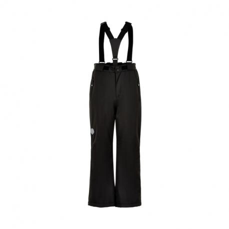 Detské lyžiarske nohavice COLOR KIDS-Ski pants slim, AF 10.000-Black