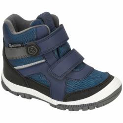 Chlapecké zimní boty nízké COLOR KIDS-Boots Low Cut, W. Two velcro-Dress Blues