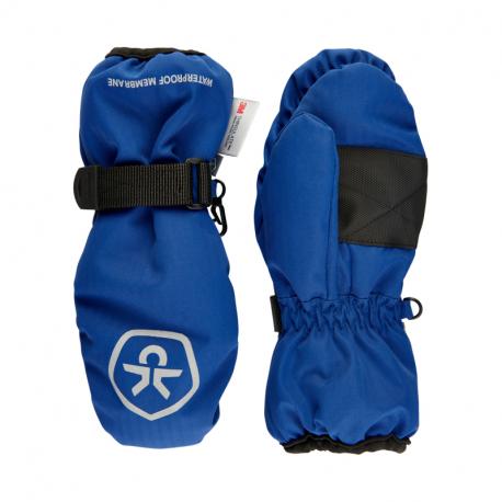 Juniorské lyžařské rukavice COLOR KIDS-Mittens Waterproof-Galaxy blue