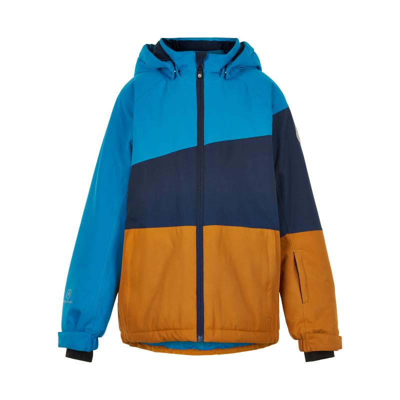 COLOR KIDS-Ski jacket, AF 10.000-Honey Ginger 152 Hnedá