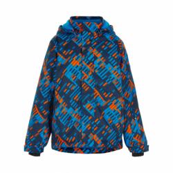 Chlapčenská lyžiarska bunda COLOR KIDS-Ski jacket AOP, AF 10.000-Hawaiian Surf