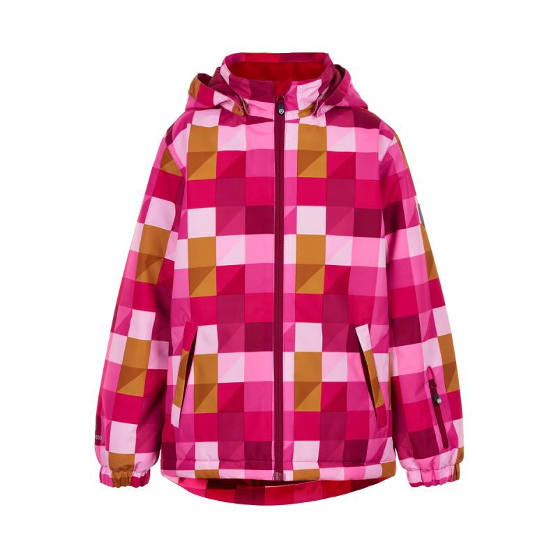 Dievčenská lyžiarska bunda COLOR KIDS-Ski jacket colorful, AF 10.000-Rose Violet -