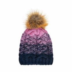 Dívčí zimní čepice COLOR KIDS-Thick cabel hat-Fuchsia Pink