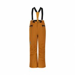 Chlapecké lyžařské kalhoty COLOR KIDS-Ski pants w / Pockets, AF 10.000-Honey Ginger