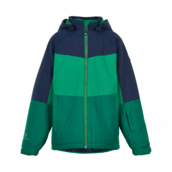Chlapčenská lyžiarska bunda COLOR KIDS-Ski jacket color, AF 10.000-Golf Green