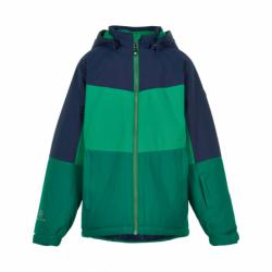 Chlapecká lyžařská bunda COLOR KIDS-Ski jacket color, AF 10.000-Golf Green