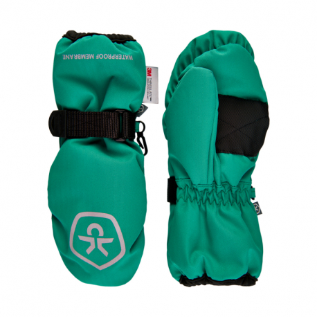 Juniorské lyžařské rukavice COLOR KIDS-Mittens Waterproof-Golf Green