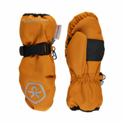 Juniorske lyžiarske rukavice COLOR KIDS-Mittens Waterproof-Honey Ginger