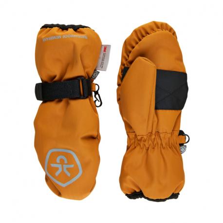 Juniorské lyžařské rukavice COLOR KIDS-Mittens Waterproof-Honey Ginger