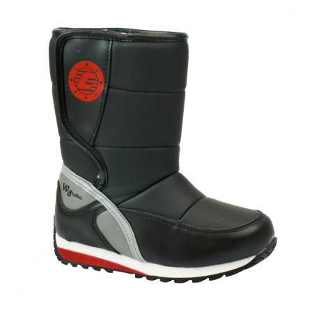 Detské zimné topánky vysoké WOJTYLKO-Tolland black