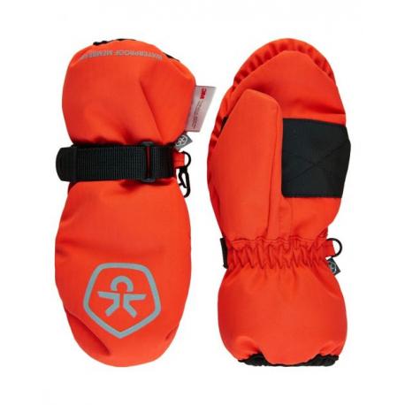Juniorské lyžařské rukavice COLOR KIDS-Mittens Waterproof-Cherry Tomato