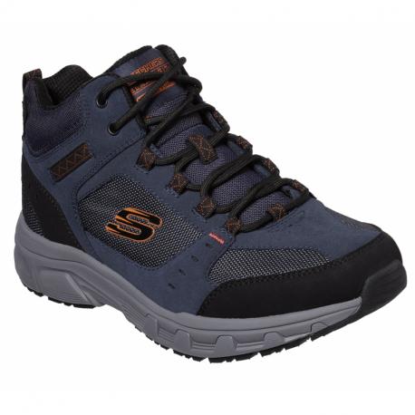 Pánská rekreační obuv SKECHERS-Oak Canyon Ironhide navy orange