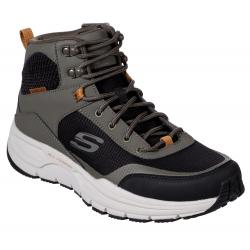 Pánska rekreačná obuv SKECHERS-Escape Plan 2.0 Woodrock olive black