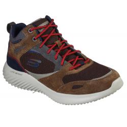 Pánská vycházková obuv SKECHERS-Bounder Hyridge brown (EX)
