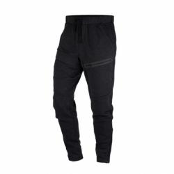 Pánske teplákové nohavice NORTHFINDER-ITHER-blackmelange