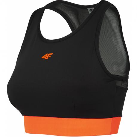 Dámska tréningová športová podprsenka 4F-SPORTS BRA-H4Z20-STAD011-70S-ORANGE