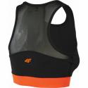 Dámska tréningová športová podprsenka 4F-SPORTS BRA-H4Z20-STAD011-70S-ORANGE -