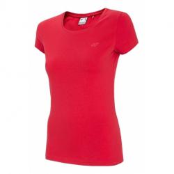 Dámské triko s krátkým rukávem 4F-WOMENS T-SHIRT-NOSH4-TSD001-62S-RED