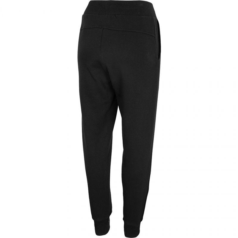 Dámske teplákové nohavice 4F-WOMENS TROUSERS-NOSH4-SPDD001-20S-DEEP BLACK -