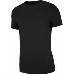 Pánske tričko s krátkym rukávom 4F-MENS T-SHIRT-NOSH4-TSM003-20S-DEEP BLACK