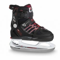 Juniorské ľadové korčule FILA SKATES-X-ONE ICE BLACK RED